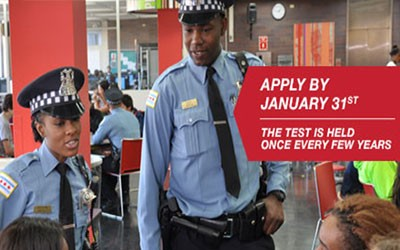 Chicago Police Recruitment Exam Campaign